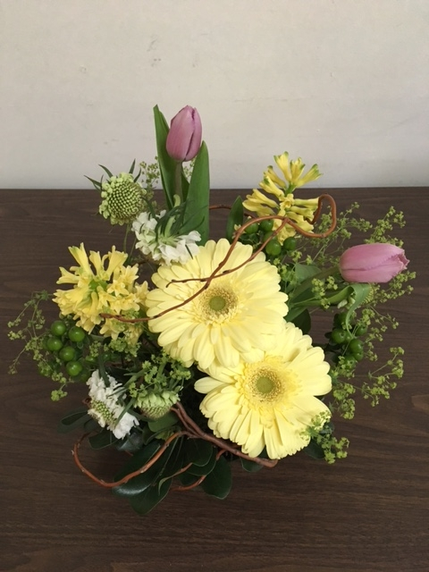 2017 Easter flower arrangement